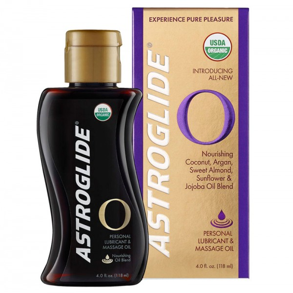 Astroglide Organic Personal Lubricant and Massage Oil