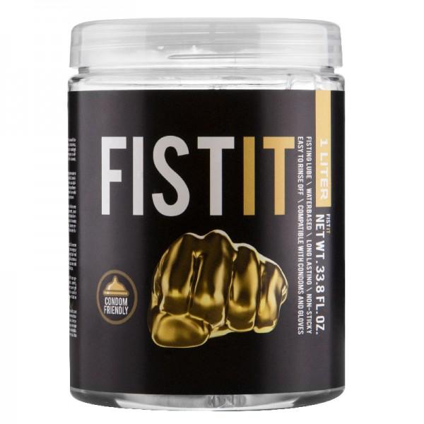 Fist It 1 Litre Jar Of Lubricant