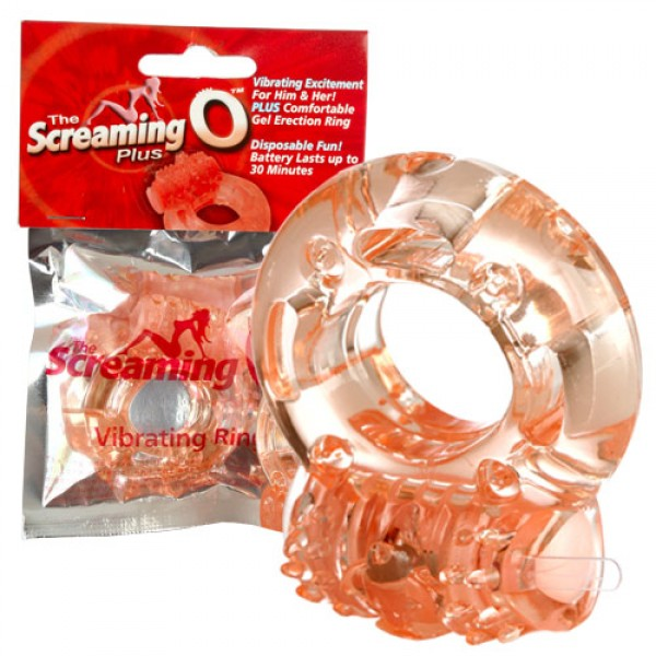 Screaming O Plus Vibrating Cock Ring